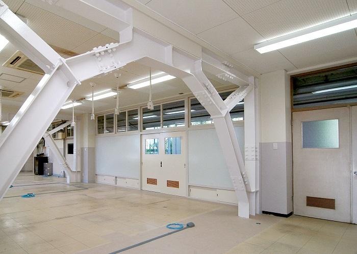 育成学校本館耐震改修工事の画像