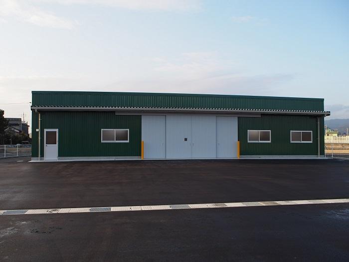 大商シード倉庫新築工事の画像