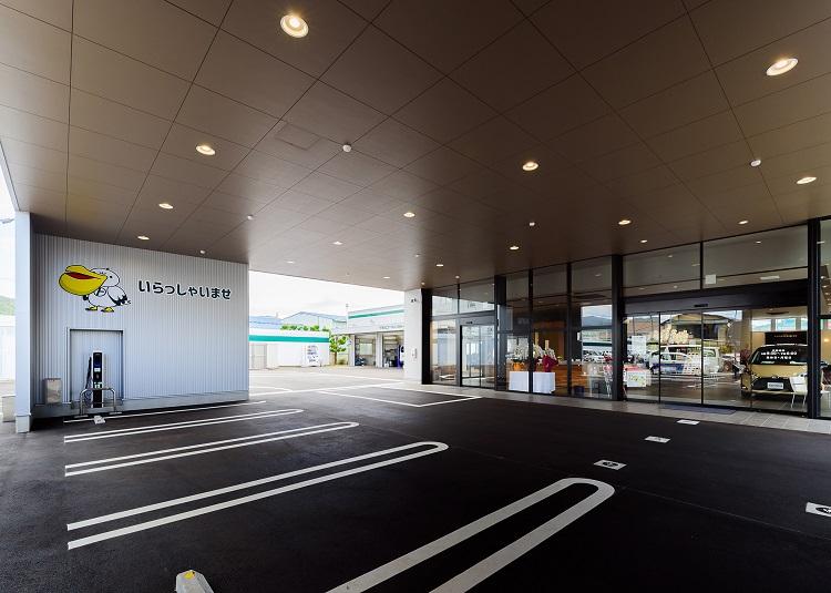 山口トヨペット(株)大内店増築工事の画像